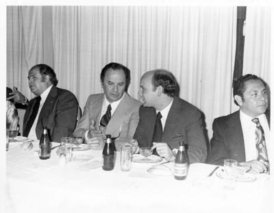 Personalidades en banquete ofrecido en el Centro Republicano Español de México