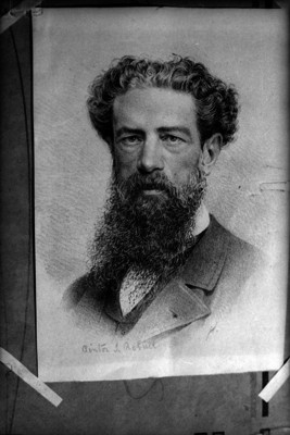 Santiago Rebull, pintor, grabado