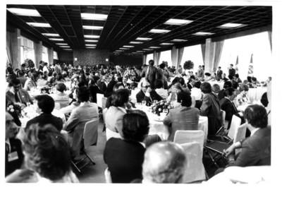 Banquete a los Parlamentarios Latinoamericanos, vista general