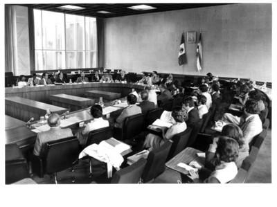 Aspecto general de la III Reunión de la Comisión Mixta México-Cuba de Cooperación Cultural y Educativa