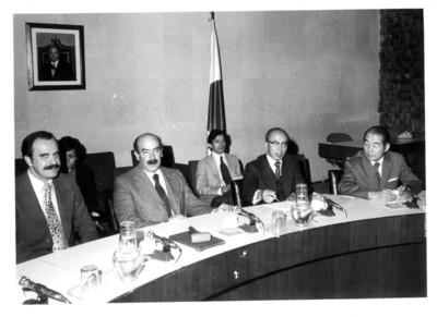José Juan de Olloqui durante la clausura de la VI Comisión Mixta México-Japón