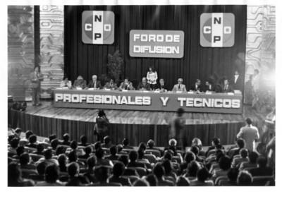 """""""Foro de difusión de profesionales y técnicos de la CNOP"""""""
