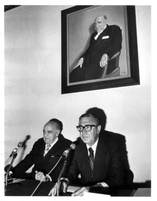 Santiago Roel García y Rafael de la Colina Riquelme, presiden una ceremonia