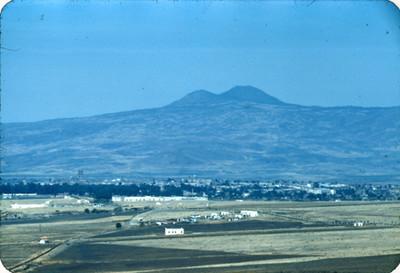 Morelia, vista de la carretera a Mexico