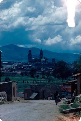 Ciudad, vista parcial