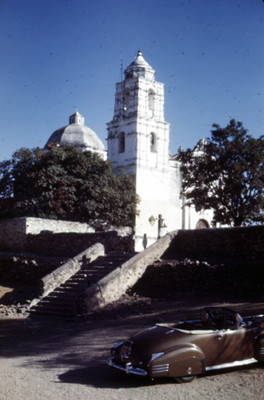 Arquitectura religiosa, vista desde una calle