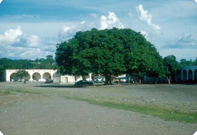 Plaza publica, panorámica