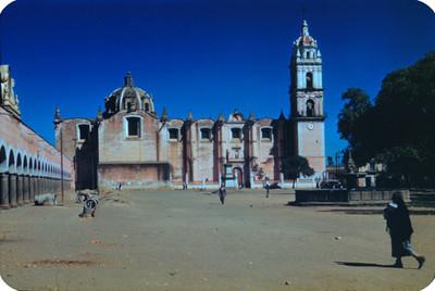 Iglesia del zocalo, lado sur, panorámica