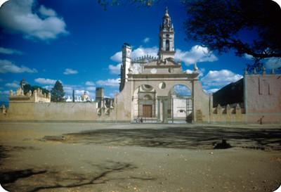Convento de la Capilla Real, lado oeste, panorámica