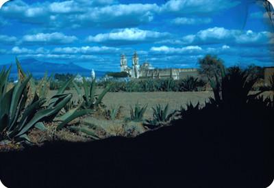 Convento, lado suroeste