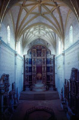 Retablo de la capilla del Convento de San Miguel Arcángel