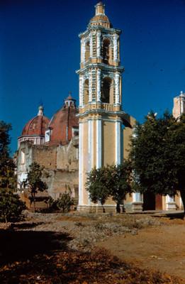 Torre de la iglesia, vista general