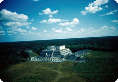 Templo de los Guerreros, panorámica