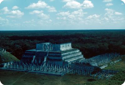 Templo de los Guerreros, vista general