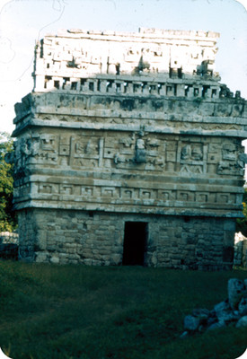 La iglesia, vista frontal