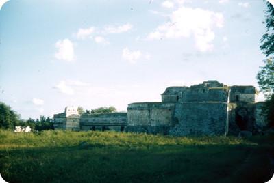 Arquitectura monumental prehispánica, panorámica
