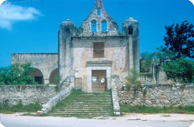 Ermita de Santa Isabel, vista frontal