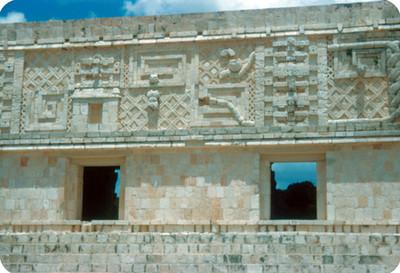 Palacio de Quetzalcoatl, vista parcial