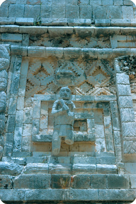 Palacio de Quetzalcoatl, detalle