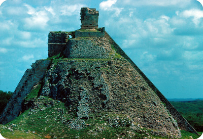 Templo del duende, vista lateral