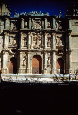 Catedral, vista frontal