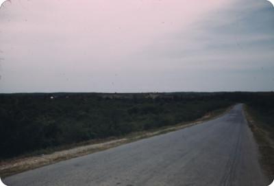 Autopista panamerica en el desierto, vista parcial