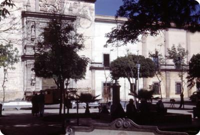 Catedral, vista parcial, lado oeste