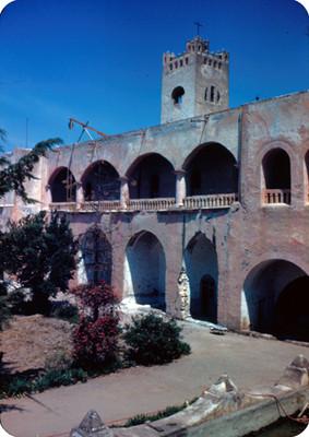 Jardin del convento, vista parcial