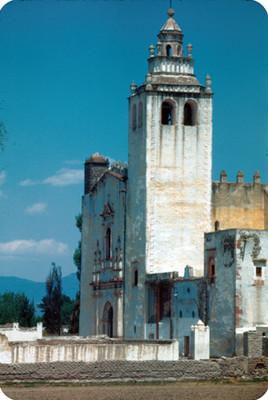 Arquitectura religiosa del convento de San Miguel Arcangel