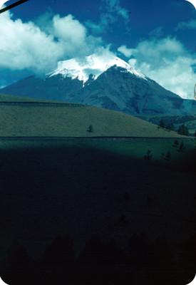 Popocatepetl, paisaje