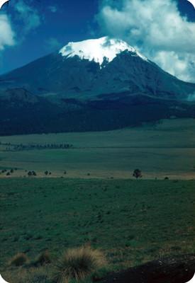 Popocatepetl, panorámica