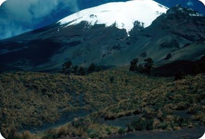 Popocatepetl, vista parcial