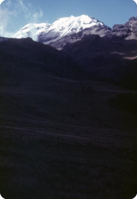 Iztaccihuatl, paisaje