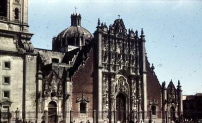 Sagrario de la catedral metropolitana, fachada