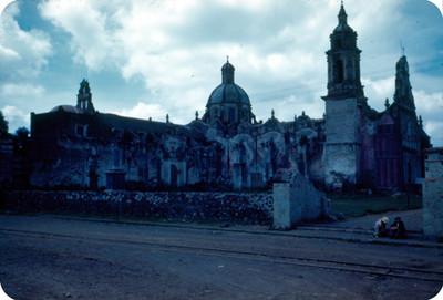 Parroquia de Santiago Apostol, lado noroeste