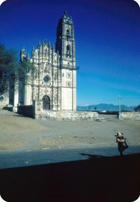 Templo de San Francisco Javier, vista parcial