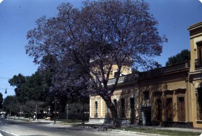 Arquitectura civil, vista lateral