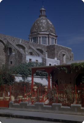 Cupula de la Iglesia de Santiago Apostol