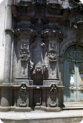 Entrada a Catedral, detalle, lado oeste