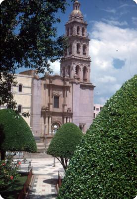 Sagrario de San Sebastián, vista desde la
