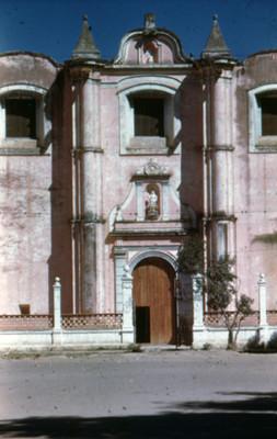 Iglesia del zocalo, vista parcial, lado sur