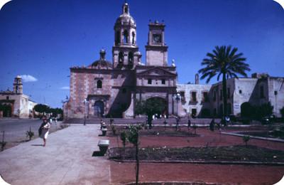 Templo de la Santa Cruz, vista frontal