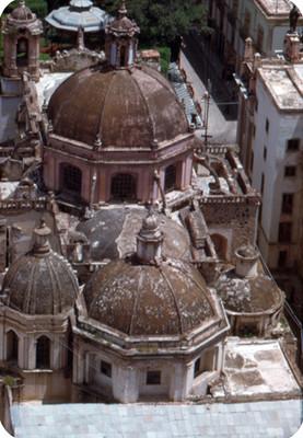 Cupulas del Templo de