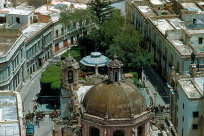 Arquitectura religiosa del Templo de San Diego y