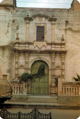 Arquitectura religiosa, entrada
