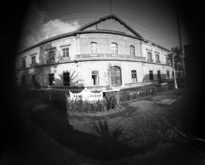 Edificio del cuartel, conjunto exconvento de San Francisco, fachada principal