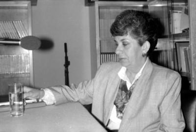Amalia Cardoz, intelectual