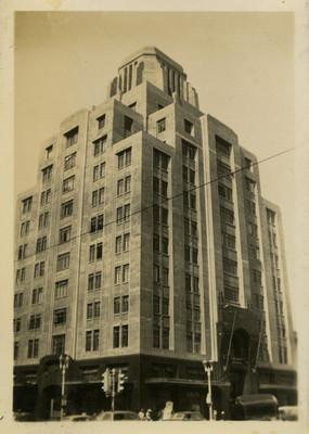 Edificio de Aseguradora La Nacional, fachada