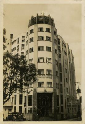 Edificio de departamentos, fachada