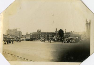 Edificio del Ayuntamiento visto desde la Catedral Metropolitana